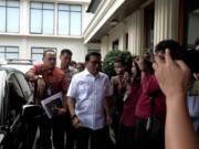 Kepala Staf Kepresidenan Moeldoko di Jakarta, Jumat (24/1). ANTARA/Rangga Pandu Asmara Jingga/pri.