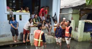 PT Perusahaan Gas Negara Tbk (PGN) memberikan bantuan kepada korban banjir di wilayah Jakarta.
