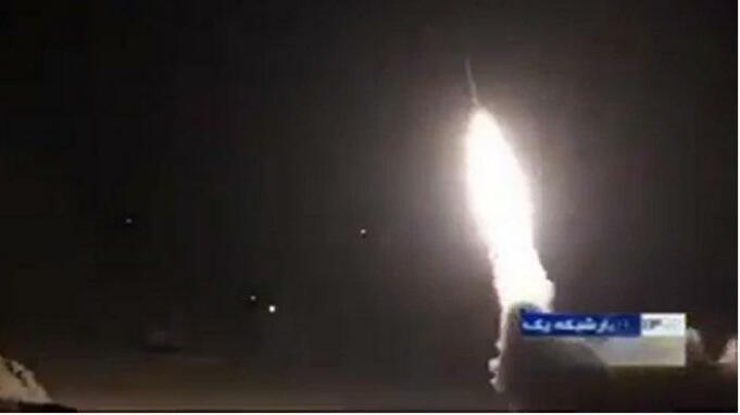 Pangkalan militer Iran mengirimkan roket dan menghantam pangkalan Irak di mana terdapat pasukan Amerika, pada Senin (7/1/2020) pukul 20.43 waktu Amerika