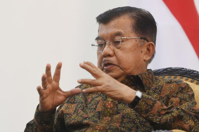 Ketua Umum Dewan Kemakmuran Masjid Indonesia Jusuf Kalla/antara