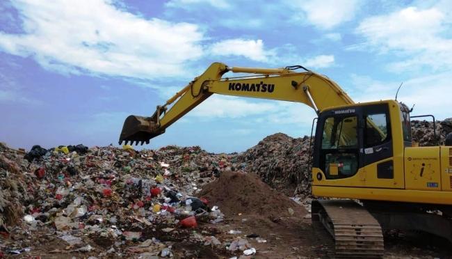 Tempat Pembuangan Akhir Sampah Belitung Timur Penuh Pada 2021