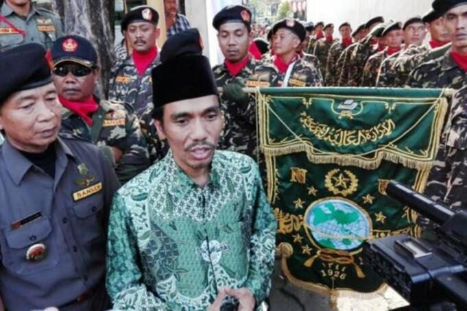 Ketua Pengurus Cabang Nahdlatul Ulama (PCNU) Surabaya, Achmad Muhibbin Zuhri (Antara Jatim/PCNU Surabaya)