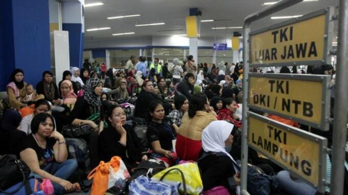 ilustrasi: pekerja migran Indonesia (PMI)