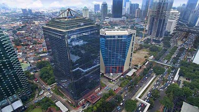 Gedung kantor pusat Bank BRI. Foto: Dok. Bank BRI