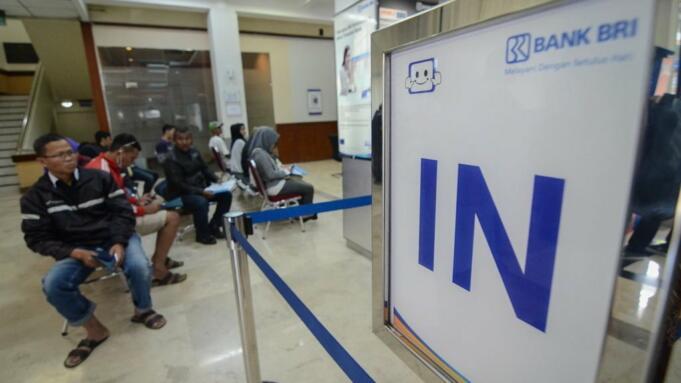 Ilustrasi: Pelayanan di Bank BRI/Antara Foto