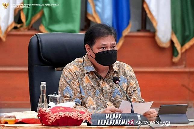 Menteri Koordinator bidang Perekonomian, Airlangga Hartarto/ANTARA
