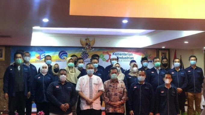 Pengukuhan DPD Gradasi oleh Gubernur Kepri