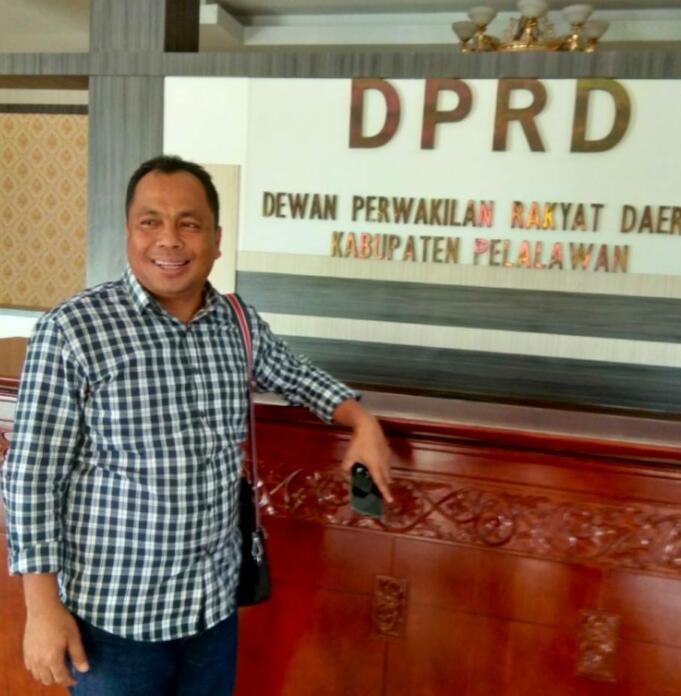 Ketua DPRD Kabupaten Pelalawan Baharuddin