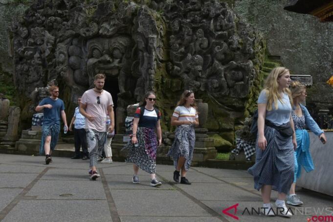 Ilustrasi: Wisatawan Asing di Bali/ANTARA