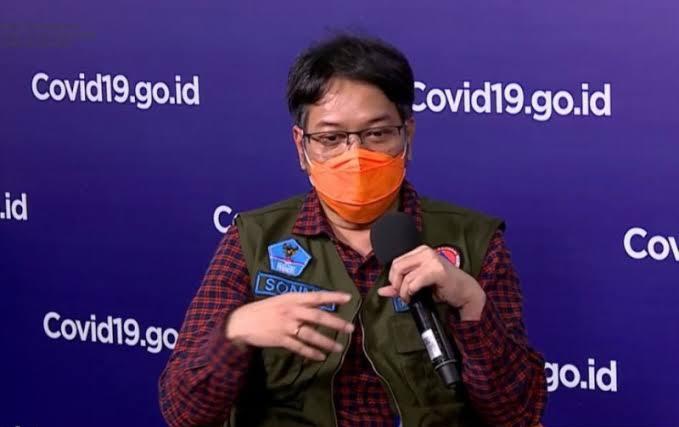 Ketua Bidang Perubahan Perilaku Satgas Penanganan COVID-19 Sonny Harmadi/Antara