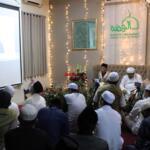Maulana Syekh As-Syarif Dr. Abdul Mun'iem bin Abdul Aziz bin Shiddiq Al-Ghumari Al-Hasani Hafidzahullah, saat Video Conference dari Maroko dalam rangkaian acara memperingati Haul Quthbul Aqthab wa Kahfu Amnith Thullab Al-Imam As-Sayyid Syekh Abu alHasan Ali Asy-Syadzili RodhiyaAllahu Anhu Ke-786, yang digelar secara virtual, Sabtu (26/6). Meningkatnya kurva  Covid-19 disejumlah wilayah di Indonesia, menjadi alasan utama Zawiyah Arraudhah Ihsan Foundation sebagai penyelenggara membatasi jamaah yang hadir. Penerapan standar protokol kesehatan (protkes) juga menjadi kewajiban yang harus dilakukan bagi ikhwah toriqoh yang hadir.
