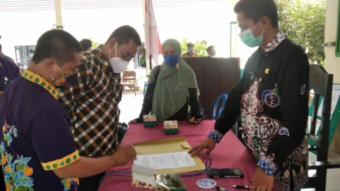 Proses mediasi antara pihak Pabrik Gula Semboro dengan warga sekitar
