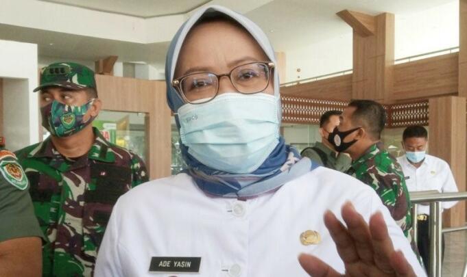Bupati Bogor, Ade Yasin selaku Ketua Satgas Penanganan COVID-19 Kabupaten Bogor/Antara