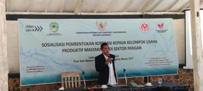 Anggota DPRD Manggarai Barat, Inosensiu Peni (dok. Jef Dain)