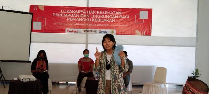 Perwakilan Komunitas Perfect Fit, Riesa Eka Putri (dok. Jef Dain)