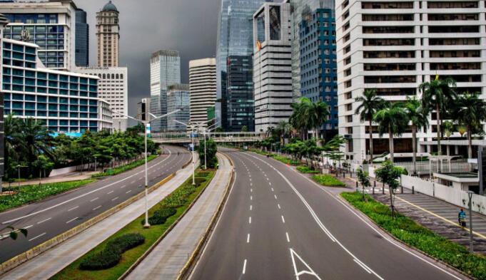 Ilustrasi Lockdown Jakarta