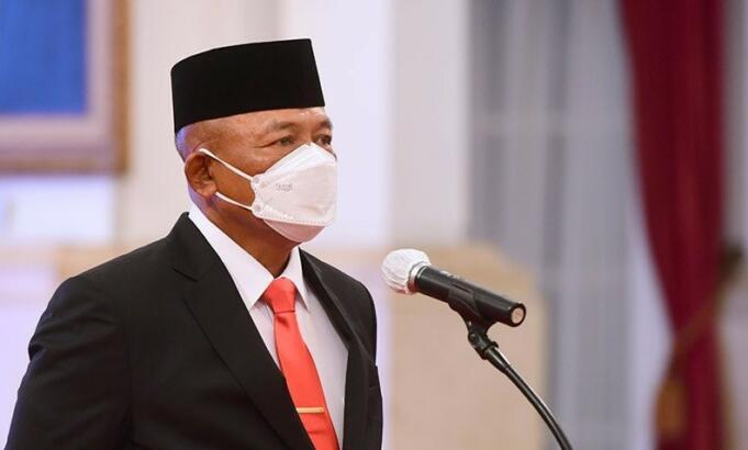 Kepala Badan Nasional Penanggulangan Bencana Ganip Warsito selaku Ketua Satuan Tugas Penanganan COVID-19 di Jakarta/Antara