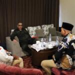 Sejumlah tokoh Kontak Tani Nelayan Andalan (KTNA), temui Wakil Menteri Pertanian (Wamentan) Harvick Hasnul Qolbi, dalam rangkaian agenda Kunjungan Kerja Wamen Pertanian di Pekanbaru, Provinsi Riau, Senin (21/6) lalu, di salah satu Hotel dikawasan Jl Jenderal Sudirman, Pekanbaru. Foto: Warnoto / Aktual.com