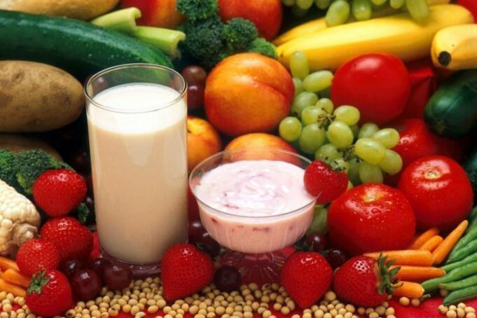 Ilustrasi Makanan Sehat/Antara