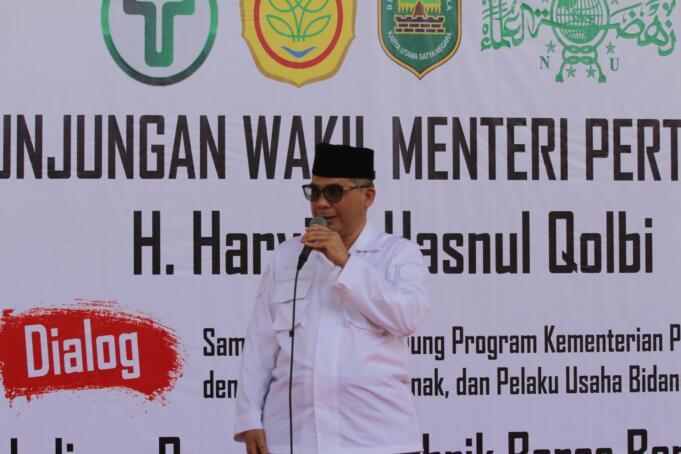 Wakil Menteri Pertanian (Wamentan) RI, Harvick Hasnul Qolbi/foto: Istimewa