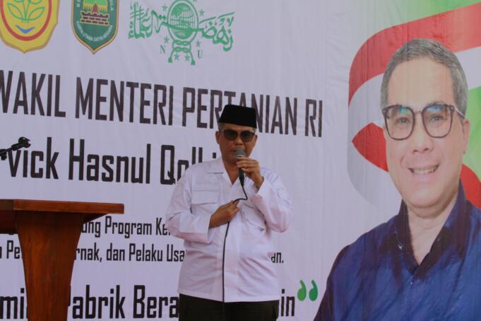 Wakil Menteri Pertanian (Wamentan), Harvick Hasnul Qolbi/Foto: Istimewa