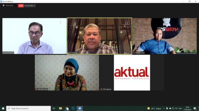 Tangkapan Layar Diskusi Masa Depan Asia Tenggara