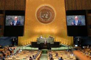 pidato PM Israel