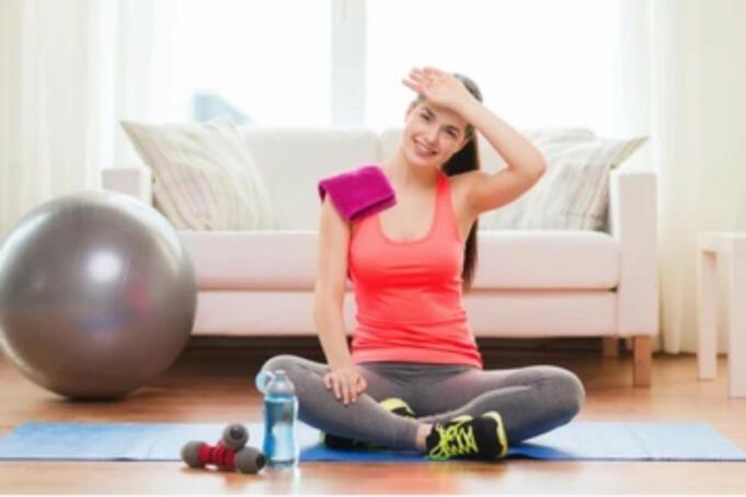 Ilustrasi Seseorang Yang Sedang Berolahraga/Antara