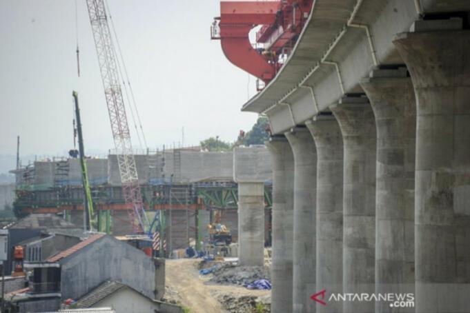 Infrastruktur Kereta Cepat Jakarta-Bandung